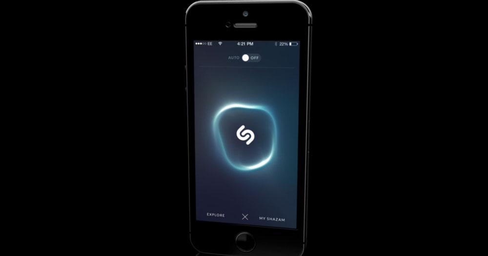shazam new design Apple et Shazam pensent à sallier dans iOS
