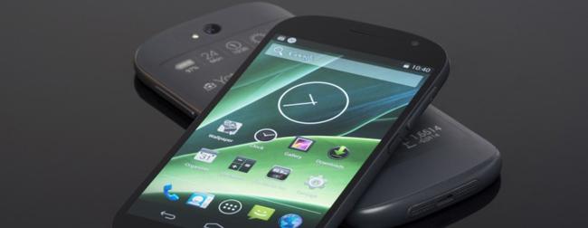 yotaphone first MWC 2014 : Yota Devices présente un téléphone à 2 écrans