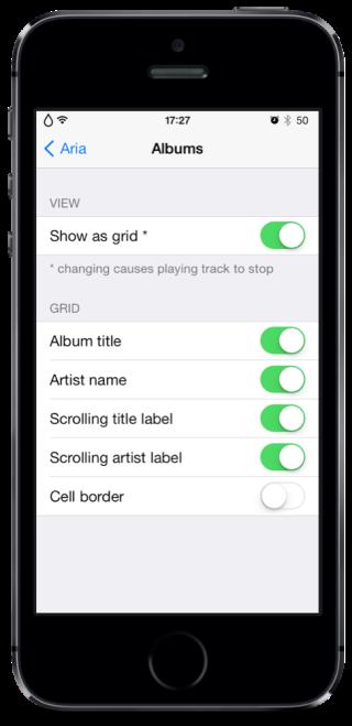 Aria 2 320x659 Cydia : Aria, un peu de changement pour votre application Musique