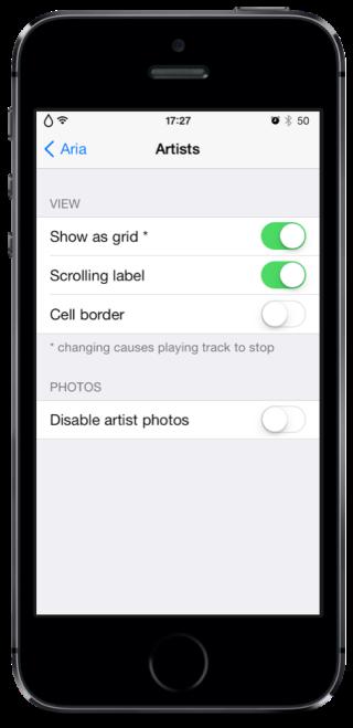 Aria 3 320x659 Cydia : Aria, un peu de changement pour votre application Musique