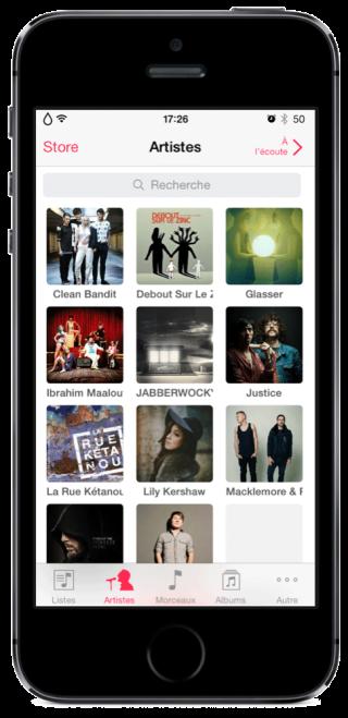 Aria 5 320x659 Cydia : Aria, un peu de changement pour votre application Musique