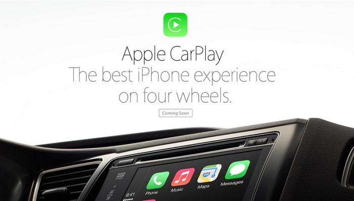 CarPlay2 Démonstration de CarPlay en direct du salon de Genève