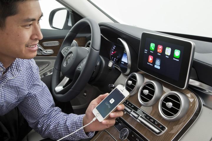 Mercedes CarPlay Mercedes nous donne un aperçu du système Carplay