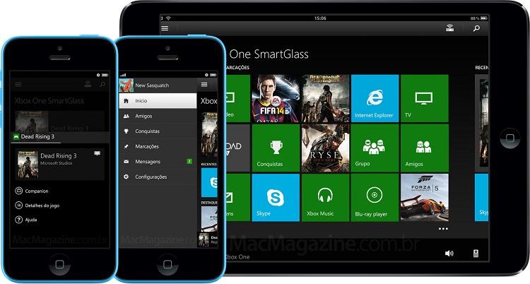 SmartGlass Xbox met à jour son compagnon Smartglass