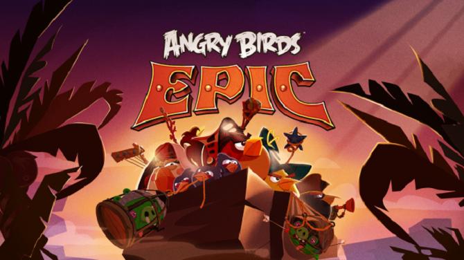 angry birds epic Rovio lance enfin son nouveau jeu Angry Birds Epic