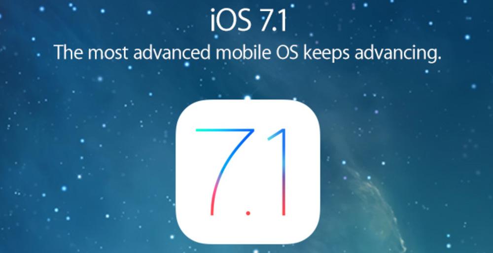 iOS7 1 LiOS 7.1.2 approche à grands pas