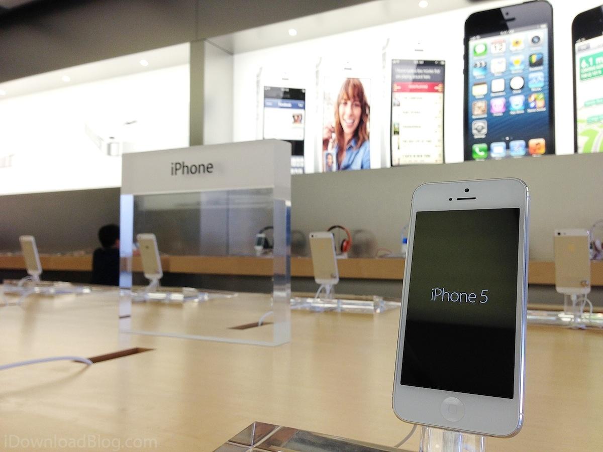 iPhone apple store Apple Store : Début du remplacement des écrans d'iPhone 5S