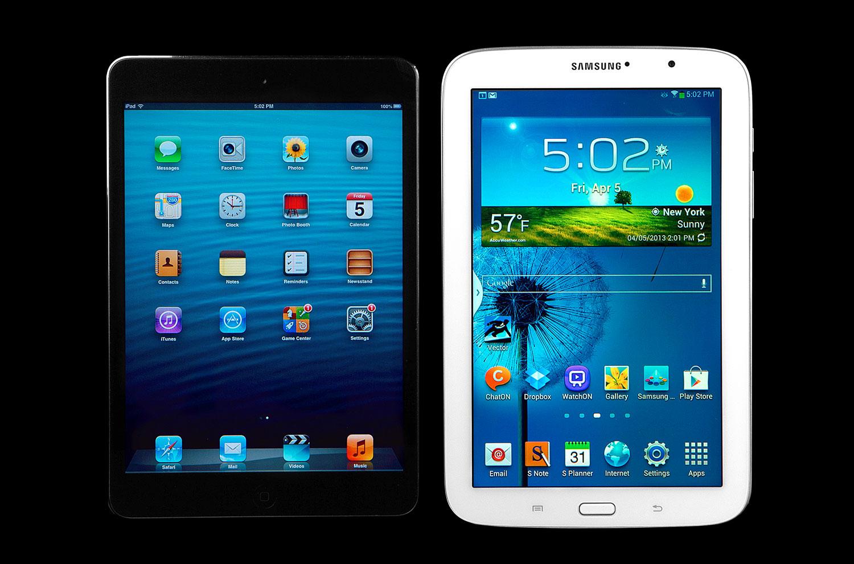 ipad mini 2 vs galaxy note 8 LiPad est toujours la meilleure tablette du marché