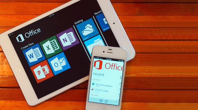 office Office pour iOS ? Lapplication est apparemment prête à sortir