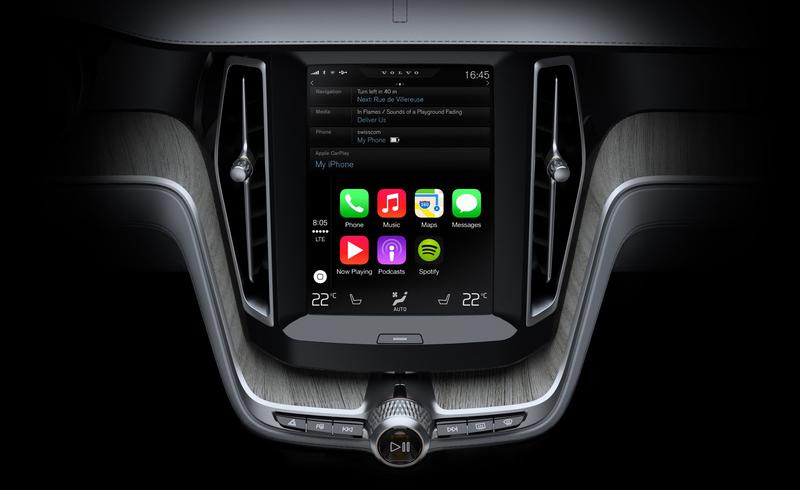 volvo ios 01 lg Volvo présente son intégration de CarPlay en vidéo