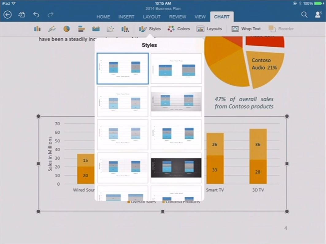 word iPad Office pour iPad (enfin) disponible