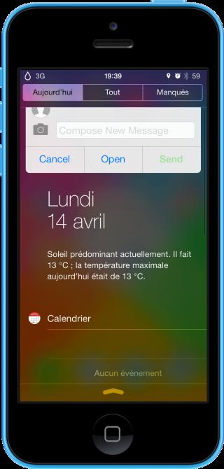Auki 320x670 Cydia : Auki vous facilite lutilisation des messages