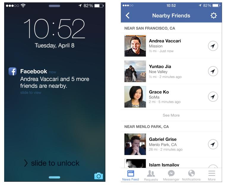 Facebook amis proches 1 Facebook va lancer son service Amis proches