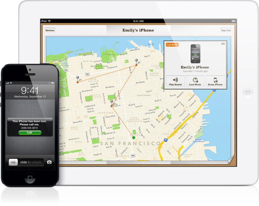 Find my iPhone Apple signe un accord anti vol de smartphone