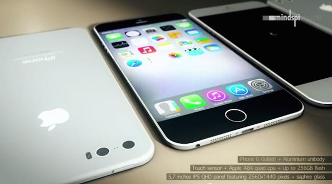 Iphone 6 mindspi1 Un nouveau concept diPhone 6 apparaît