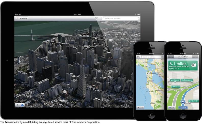 Maps Apple dépose un brevet pour améliorer Plans