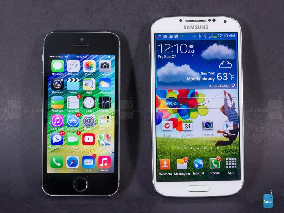 S5 et 5S Apple explique les deux milliards de dollars demandés à Samsung