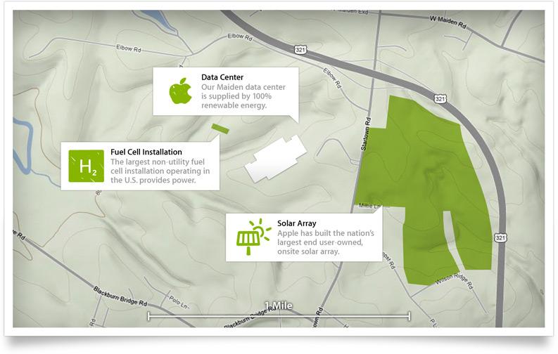 apple écologie Apple continue son plan écologique