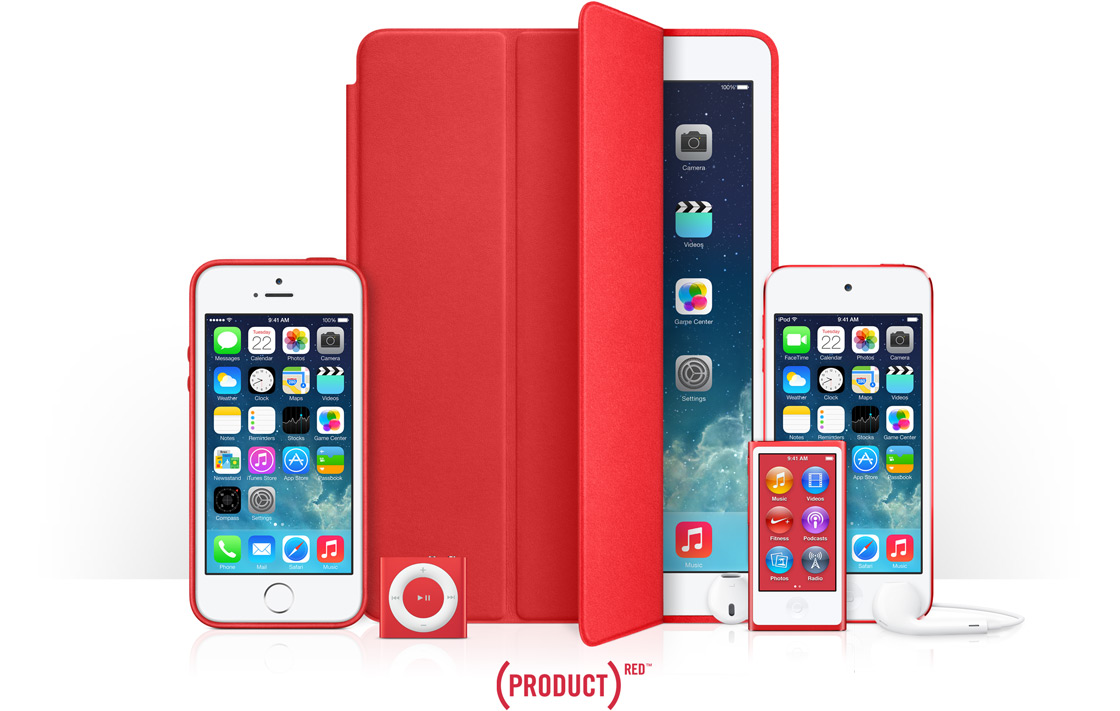hero Les produits RED dApple ont rapporté 70 millions de dollars pour la lutte contre le SIDA
