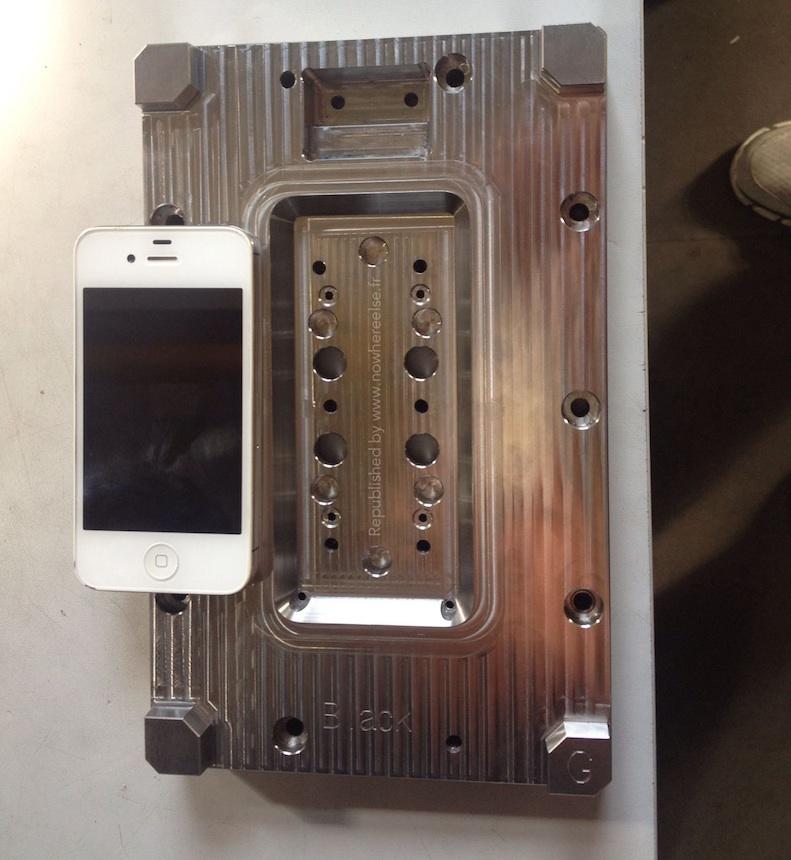 iPhone 6 mold NowhereElse.fr 0012 Les moules diPhone 6 indiquent un écran de 4,7 pouces