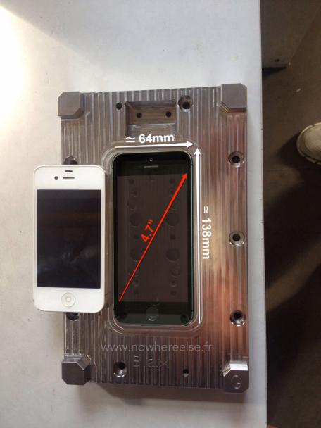 iphone 6 dimensions Les moules diPhone 6 indiquent un écran de 4,7 pouces