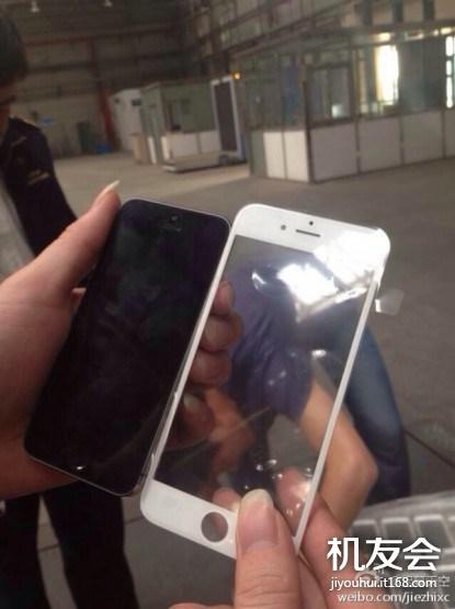iphone 6 rumeur Une nouvelle photo dun iPhone 6 a été diffusée