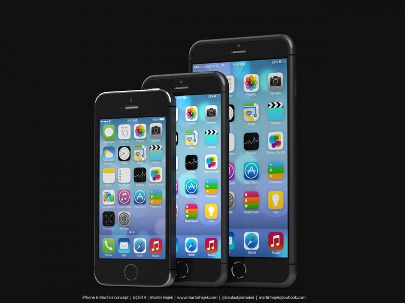 iphone 6 hajek 2 LiPhone 6 aura une résolution encore plus grande