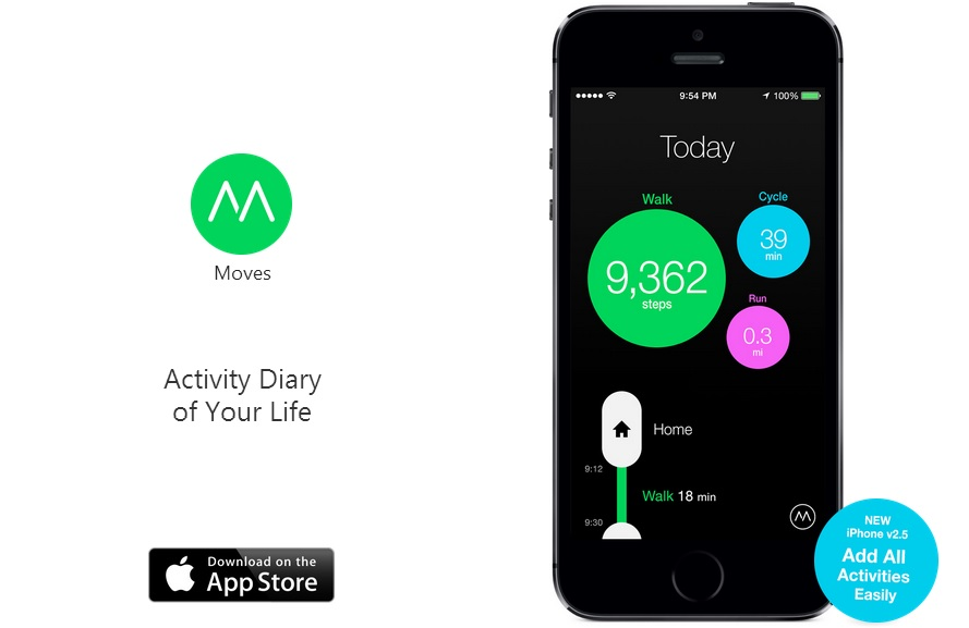 moves Facebook rachète lapplication de fitness Moves