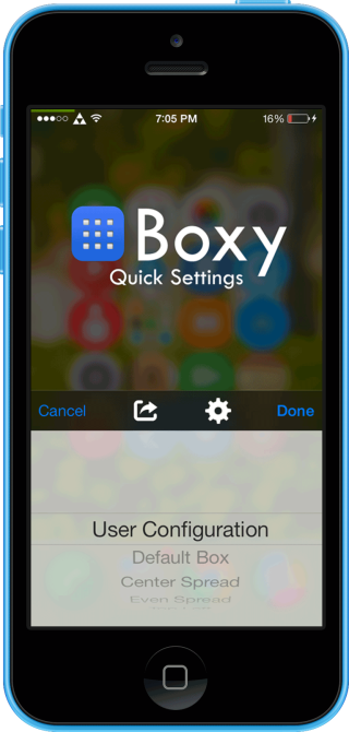 Boxy2 6 320x670 Cydia : Boxy 2, personnalisez la disposition de vos applications