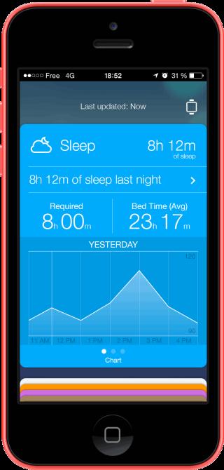 Healthbook 0 320x670 Testez ce que pourrait donner Healthbook sur iOS 8 via une web app