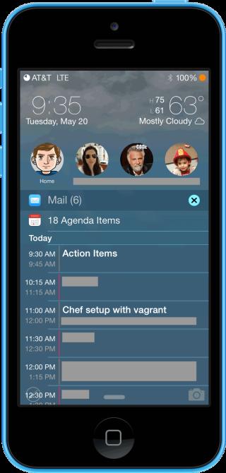 LockInfo7 0 320x670 Cydia : LockInfo pour iOS 7 est disponible