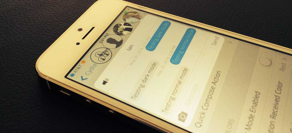 MessageHeads Cydia : MessageHeads, discutez par SMS depuis nimporte où