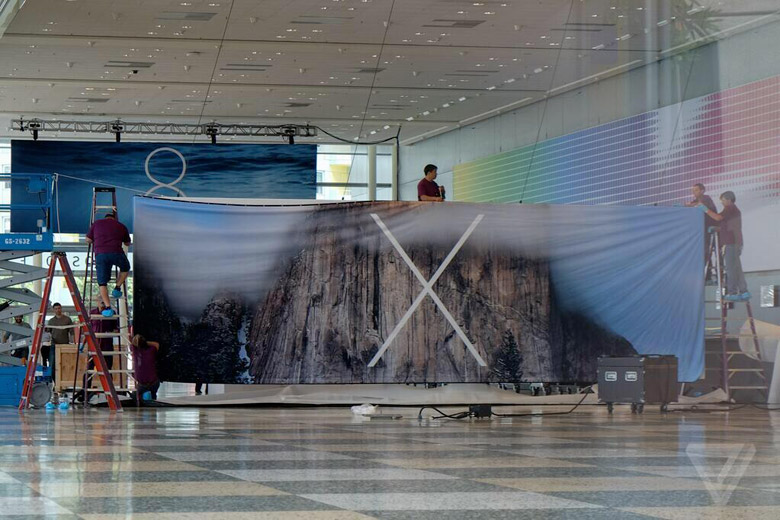 OSX10.10 WWDC 14 : Les bannières iOS 8 et OSX 10.10 se dévoilent