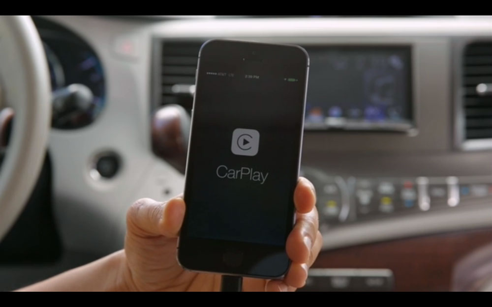 Pioneer CarPlay 3 CarPlay sur système Pioneer : sobre, simple mais très efficace