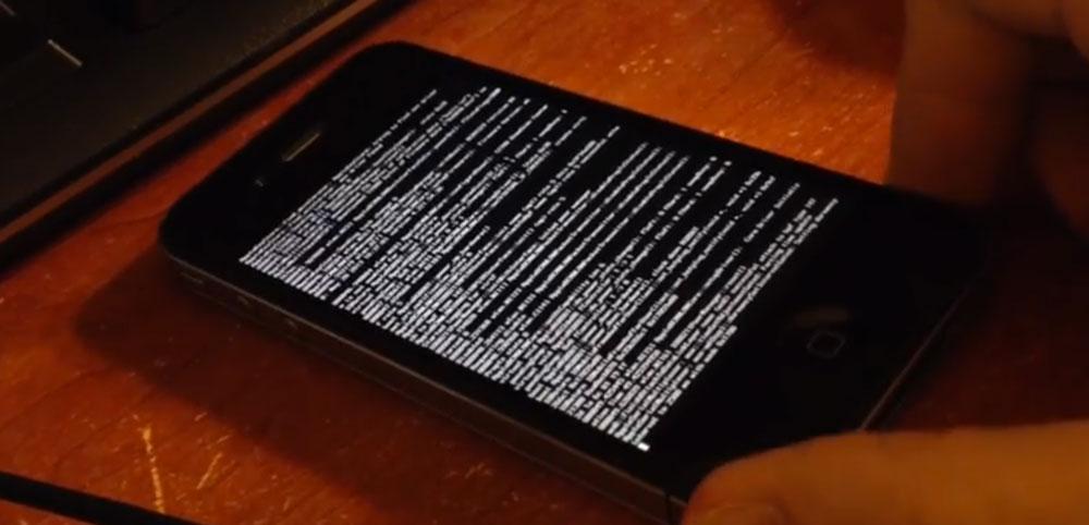 Winocm Winocm montre un iPhone 4 iOS 7.1.1 jailbreaké