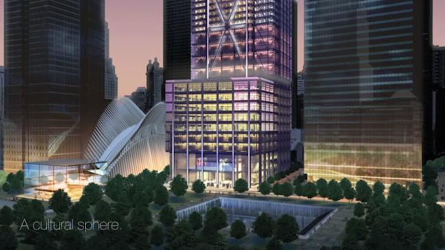 World Trade Center tour1 Un Apple Store ouvrira au One World Trade Center en 2015