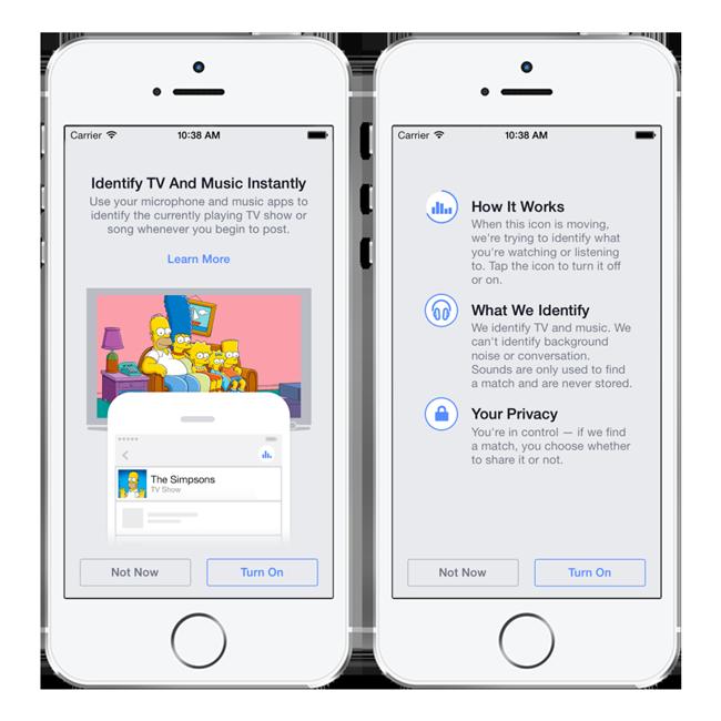 facebook music tv Facebook lance un nouveau service de reconnaissance