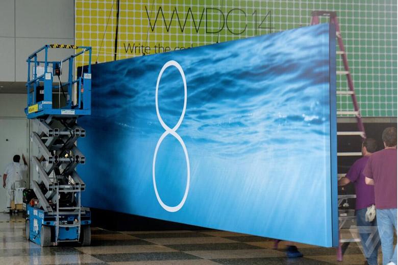 iOS 8 2 WWDC 14 : Les bannières iOS 8 et OSX 10.10 se dévoilent