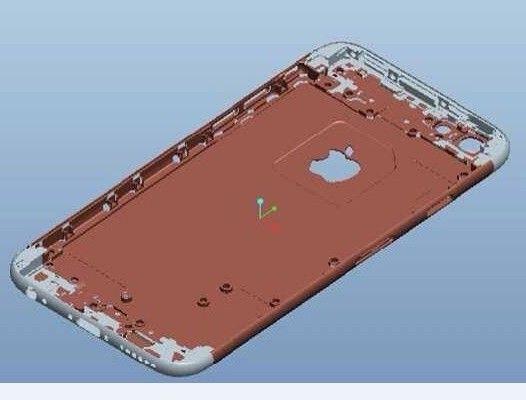 iphone 6 s 03 Des plans dun iPhone 6 en provenance de Foxconn ?
