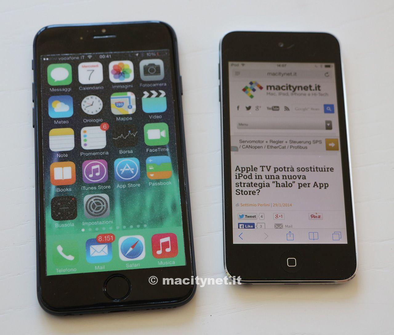 iphone6eipodtouchg07 Comparaison entre liPhone 6 et liPod Touch 5G