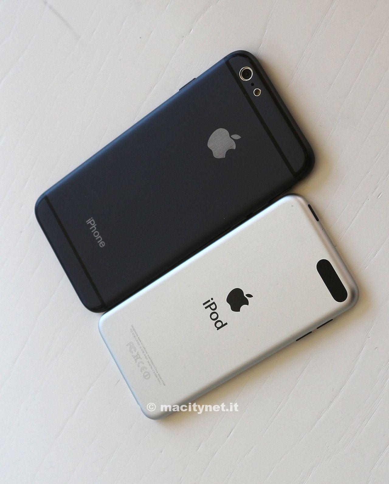 iphone6eipodtouchg64 Comparaison entre liPhone 6 et liPod Touch 5G