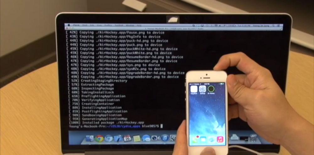 jailbreak Un autre hacker jailbreak liOS 7.1.1 sur iPhone 5S