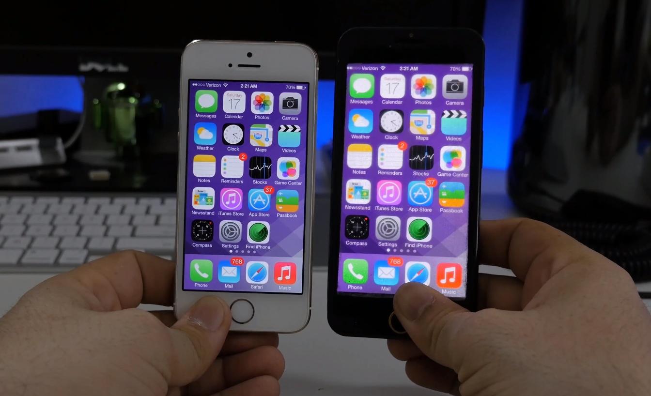 simulateur iPhone 6 Voici à quoi ressemblera iOS sur un iPhone de 4,7 pouces