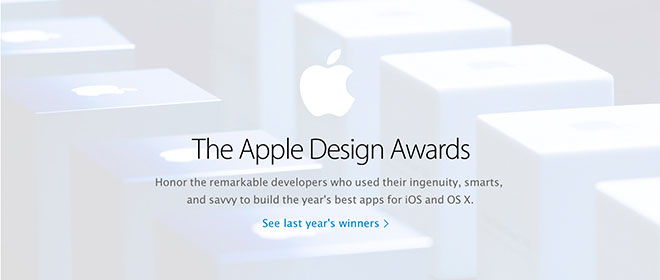 Design Awards Découvrez les gagnants des trophées Apple Design Awards