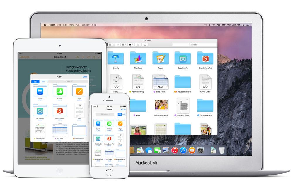 icloud drive1 Windows s'apprête à accueillir iCloud Drive, une Dropbox façon Apple