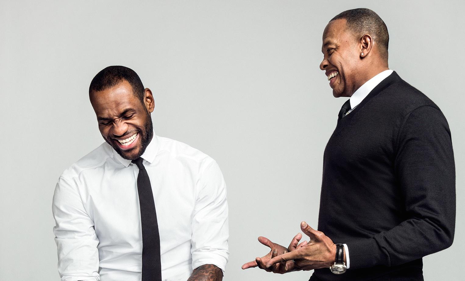 lebron et dre LeBron James a apprécié le rachat de Beats par Apple