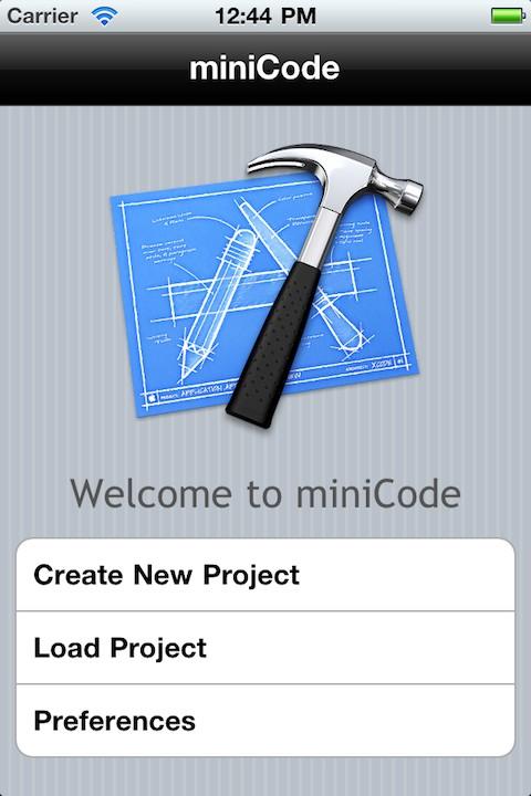minicode1 Cydia : miniCode, un Xcode porté sur iOS