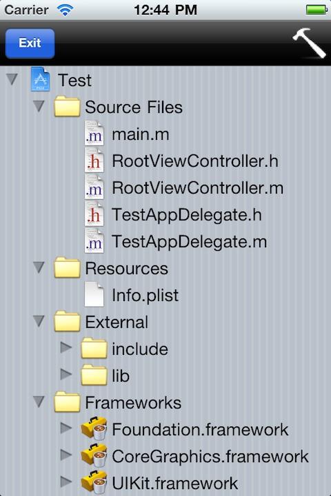 minicode2 Cydia : miniCode, un Xcode porté sur iOS