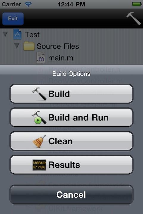 minicode3 Cydia : miniCode, un Xcode porté sur iOS