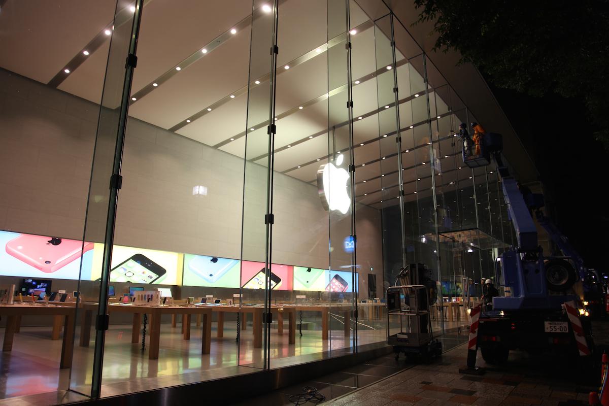 omotesando apple store Apple diffuse une vidéo de sa nouvelle boutique au Japon
